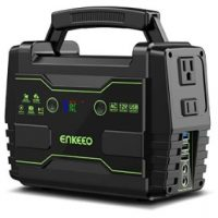 155Wh ENKEEO Portable Solar Power Station