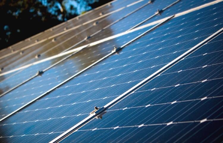 solar panel  reflect