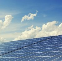 solar panel sky